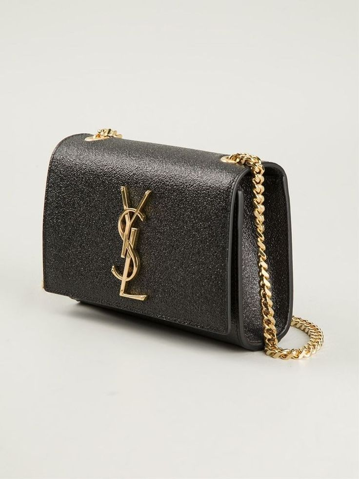 Aw2015 ysl saint laurent small classic monogram black shoulder bag ...