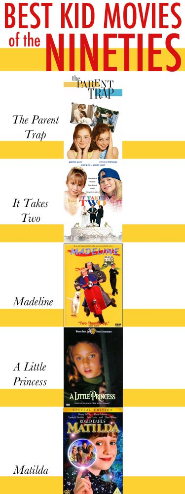 College Prep: Best Kid Movies from the 90s