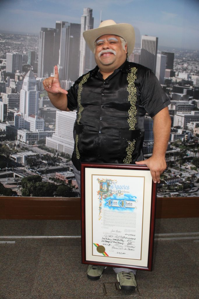 They Declare Don Cheto Day In The City Of Los Angeles Latest News Headlines City Los Angeles