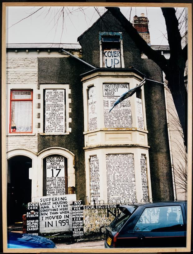 Jeremy Deller (born 1966) and Alan Kane (born 1961) Protest House, Cardiff, Wales, 2001 2001