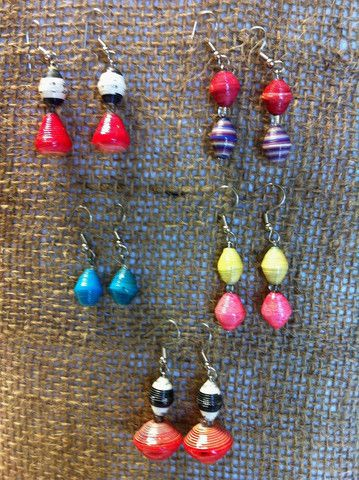 Rafiki Bead Earrings