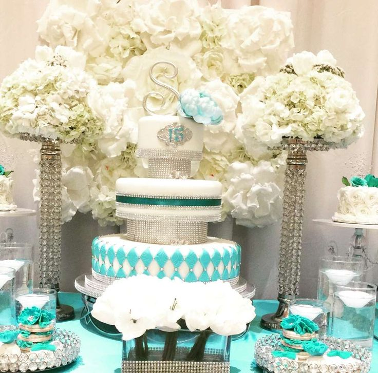 Tiffany Themed Party For Keira S 18th Birthday: 302 Best Tiffany's Party Ideas Images On Pinterest