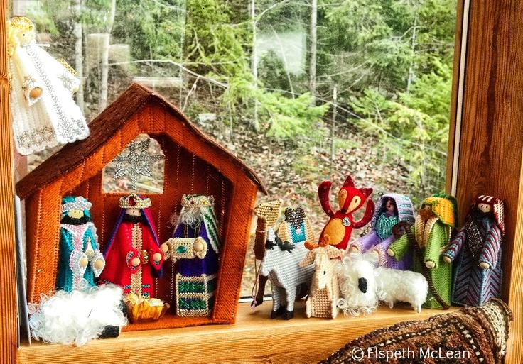 Merry Christmas from Little Prairie Fox #fox #christmas
