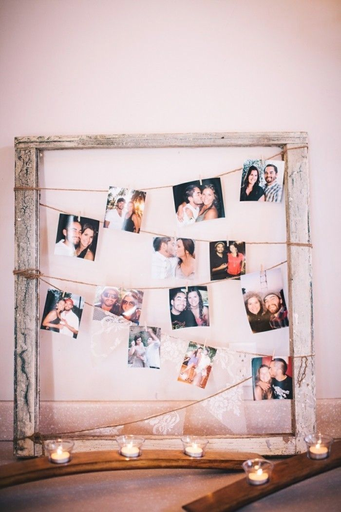 Get Inspired By These Do It Yourself Picture Frames Picture Frame Decor Picture Frame Crafts Cute Picture Frames