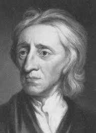 John Locke is geboren op 29 augustus 1632 in Wrington bij Bristol en is overleden op 28 oktober 1704 in High Laver, Essex. John Locke was een Britse filosoof. John Locke was het niet eens met het goddelijkrecht van Lodewijk XIV en Karel I (Droit Divin!). Elk mens was volgens hem vrij en gelijk.Hij vond dat iedere mens vrij en gelijk is. De natuur maakt volgens hem geen onderscheidt tussen de mens. De rechten die mensen van nature hadden (vrijheid en gelijkheid) noemden hij natuurrechten.
