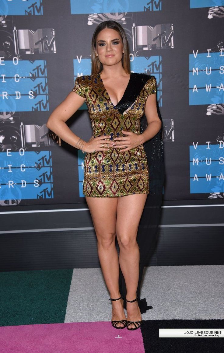 Nude multani jojo levesque tight top