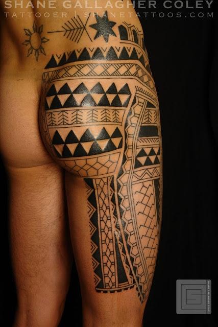 Traditional Polynesian Tattoos by Shane Tattoos, Australia