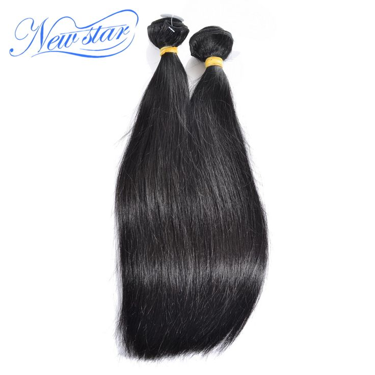 New Star Peruvian Virgin Hair 100% unprocessed virgin human Hair extensions natural color with cuticle aligned in same direction