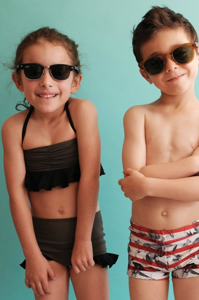Swimwear with a retro twist - For boys and girls - Wolf & Rita