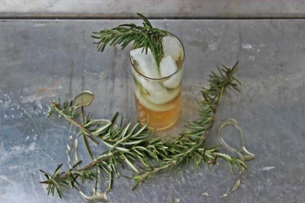 Bourbon Rosemary Cooler