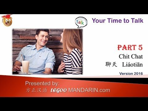 Learn How to Speak Mandarin Chinese  HSMT P 05 V2016 Enjoy your Chinese Chit Chat -  https://youtu.be/__icE047Pn4 via @YouTube