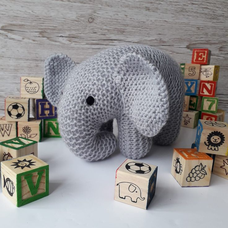 Baby Elephant Knitting Pattern in 2020 (With images ...
