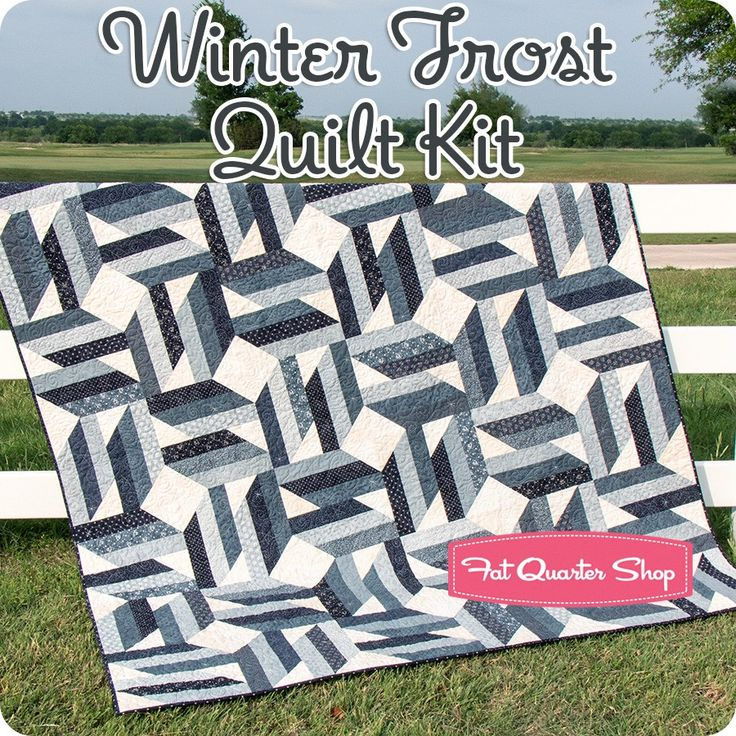 Winter Frost Quilt Kit<br/>Featuring Snowman Gatherings III by Primitive Gatherings