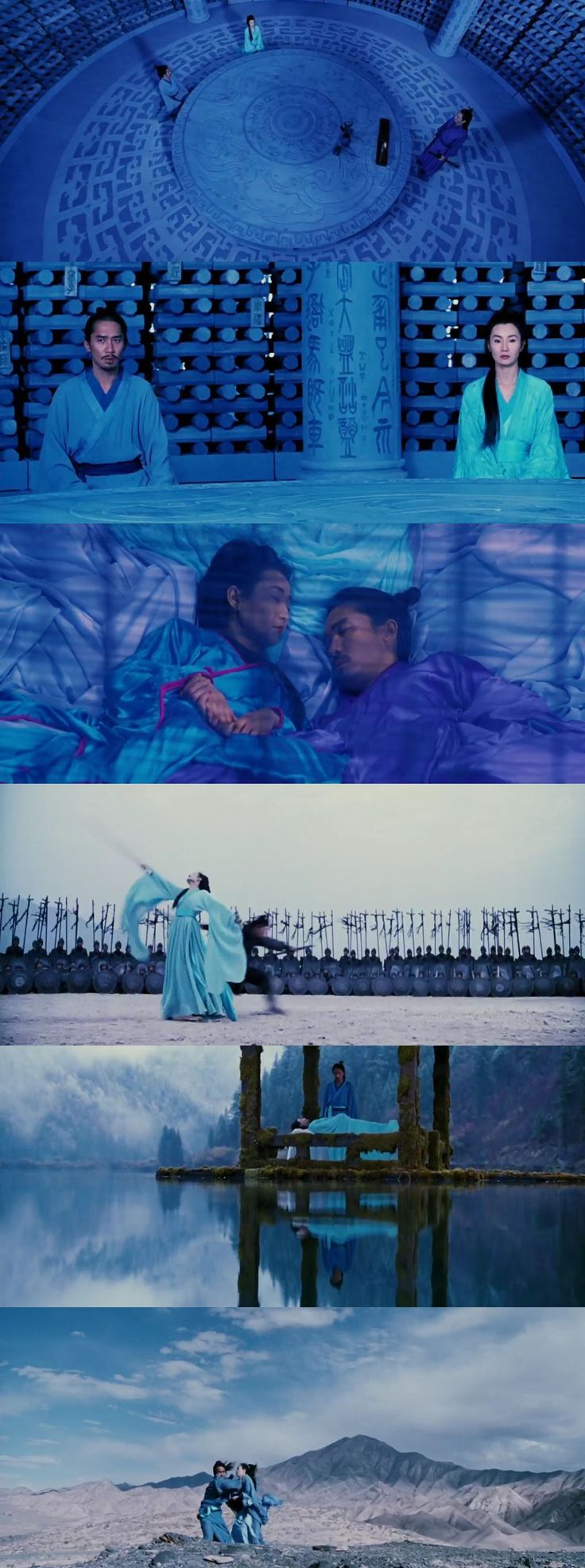 Hero (2002) Yimou Zhang Costume designer: Emi Wada Estante da Sala. If you like UX, design, or design thinking, check out theuxblog.com