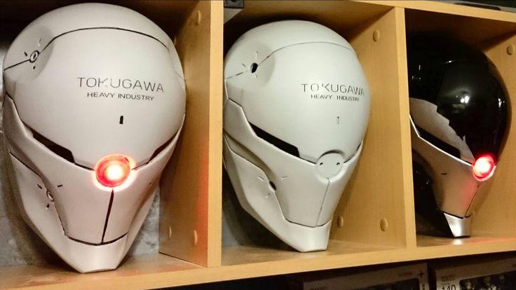Metal Gear Solid Gray Fox Helmet Prop Replica by LifeSizeHeroes