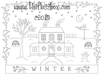 The Floss Box   Winter Embroidery