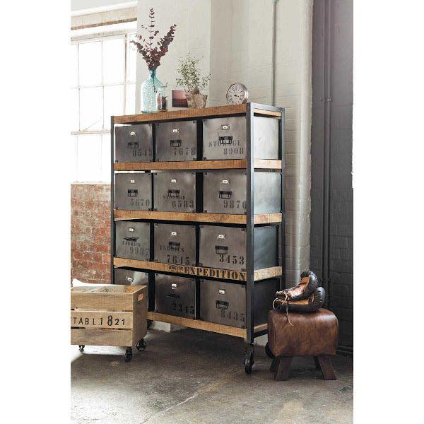 M s de 25 ideas incre bles sobre muebles industriales en for Muebles industriales antiguos
