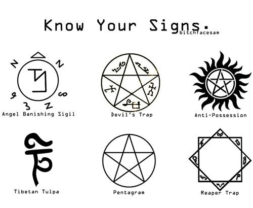 Supernatural tattoos. :)