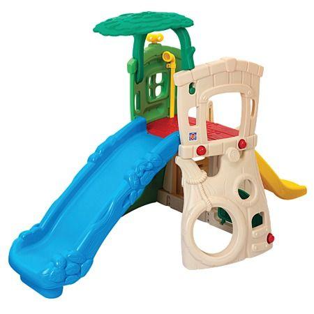 Grow n Up Double Slide Climb Hide Jungle