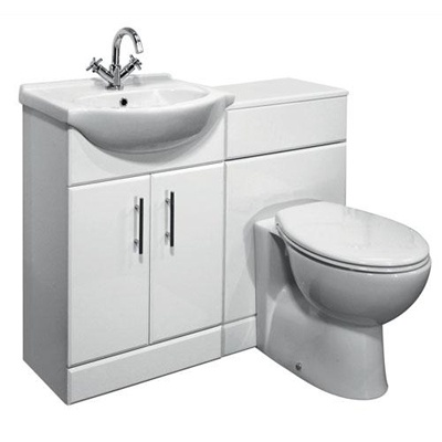 This is fundamentally my idea ... to get a vanity made which includes a toilet with hidden cistern