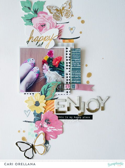 Scraptastic Club February 16 Gale Song Kit