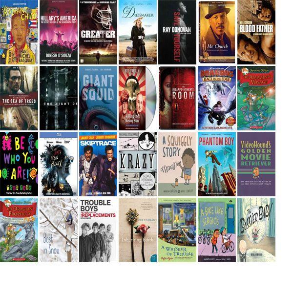 """Wednesday, January 25, 2017: The Montgomery County-Norristown Public Library has 18 new videos, four new audiobooks, 58 new children's books, and 17 other new books.   The new titles this week include """"Radiant Child: The Story of Young Artist Jean-Michel Basquiat,"""" """"Hillary's America: The Secret History Of The Democratic Party,"""" and """"Greater."""""""