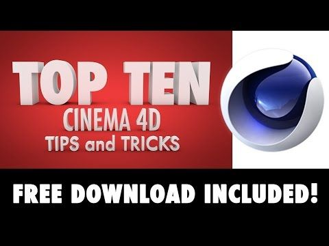 ▶ Cinema 4D Tutorial: Top Ten Tips and Tricks in 8 minutes - YouTube