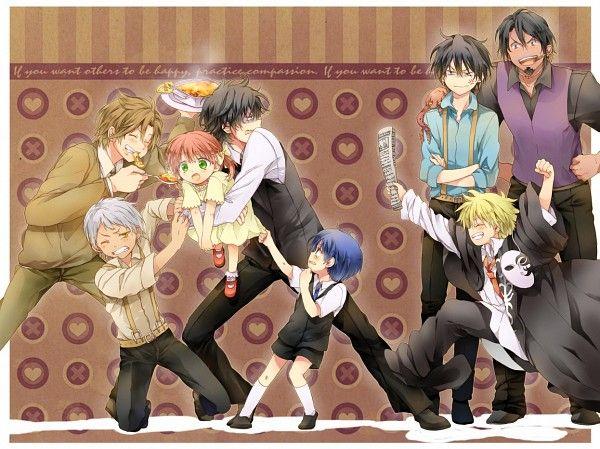 Younger Pace, Debito, Felicita, Luca (HAHA! love his face lol! XD), Nova, Liberta, Jolly, and Dante