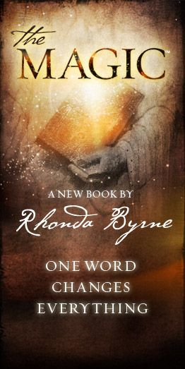 "I love Rhonda Byrne's collection of books! Fell in love with ""The Secret"" and will definitely fall in love with the latest book, ""The Magic!"""