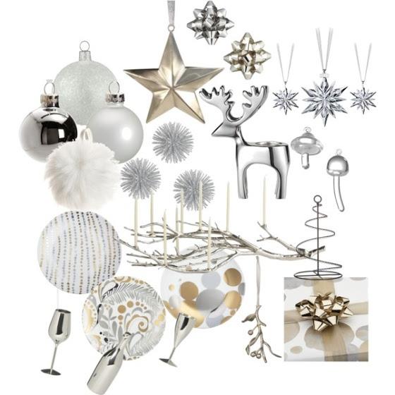 Minimalistické vianočné dekorácie