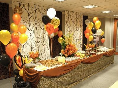 Pretty Parties African Safari Party Safari Pinterest