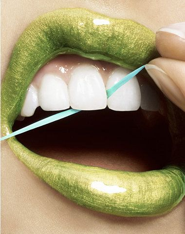 This is something I need to do everyday. I am terrible when it comes to flossing!!