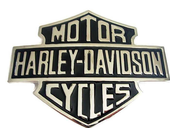 Harley Davidson Belt Buckle - Motor cycle Shield Biker Leather Belts and Buckles