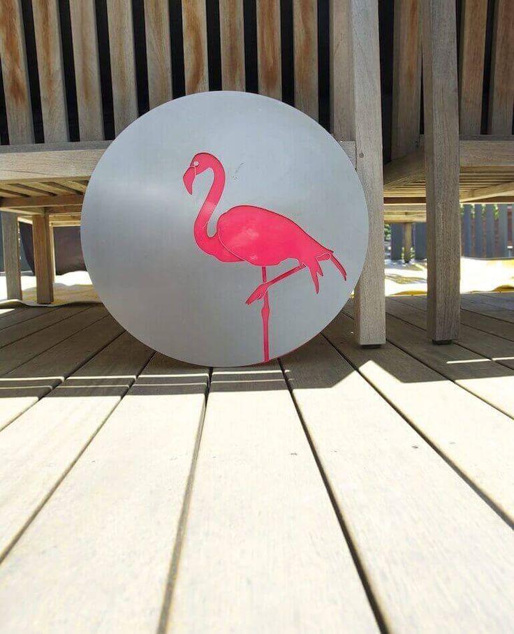 Flamingo - Outdoor Steel Art