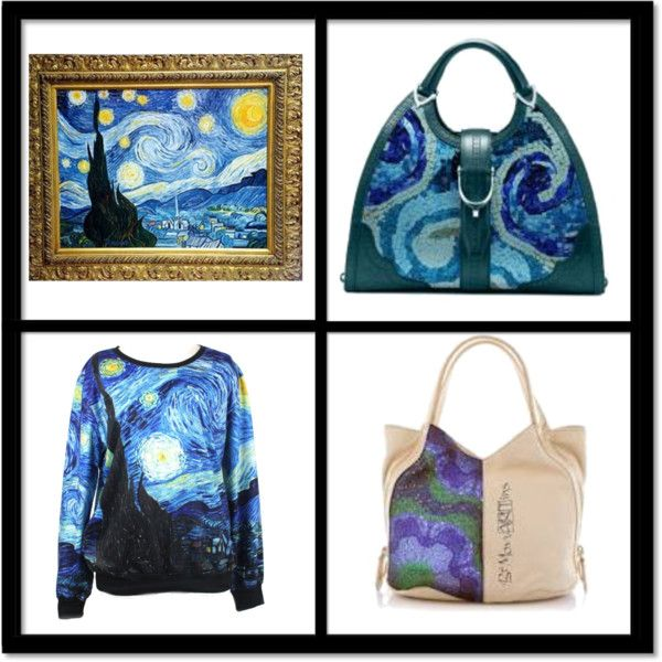 """""""Van Gogh - MCreations - Bemomartins - Italy"""" by alvufashionstyle on Polyvore"""
