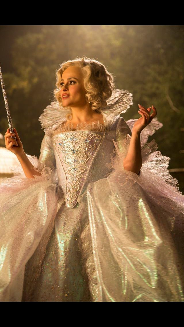 Helena Bonham Carter as Fairy Godmother