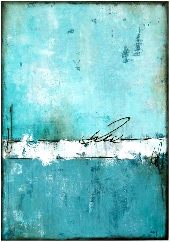 ANTJE HETTNER * Gemälde ORIGINAL KUNST MALEREI Leinwand MALEREI abstrakt XXL Acryl – malereikunst