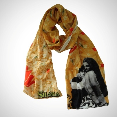 Bollywood Wraps & Stoles 'Silsila' Imprint  Now At Rs. 795.00
