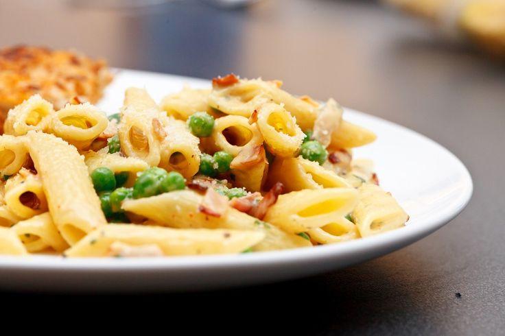 Pasta Carbonara - en sunnere versjon