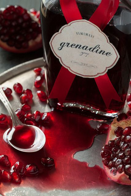 Grenadine Syrup Recipe   Will Cook for Friends blog