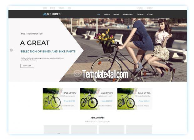 Mejores 983 imágenes de Free Website Themes Templates en Pinterest ...