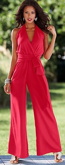 Halter Palazzo Jumpsuit ♥✤ | Keep the Glamour | BeStayBeautiful