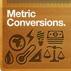 Tabla de conversiones - gráfico de conversión para unidades de medida