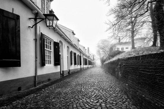 Nieuw in mijn Werk aan de Muur shop: Een verlaten Bruntenhof in Utrecht