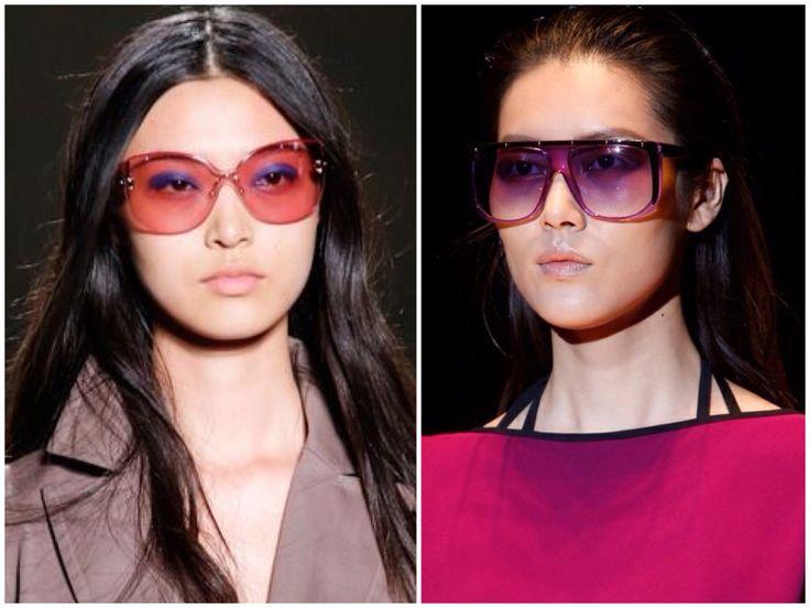 renkli pembe,pembe lens,2014 yaz gözlük trendleri,2014 gözlük modelleri