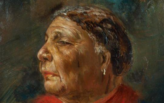 A portrait of Mary Seacole, which hangs at the National Portrait Gallery in London
