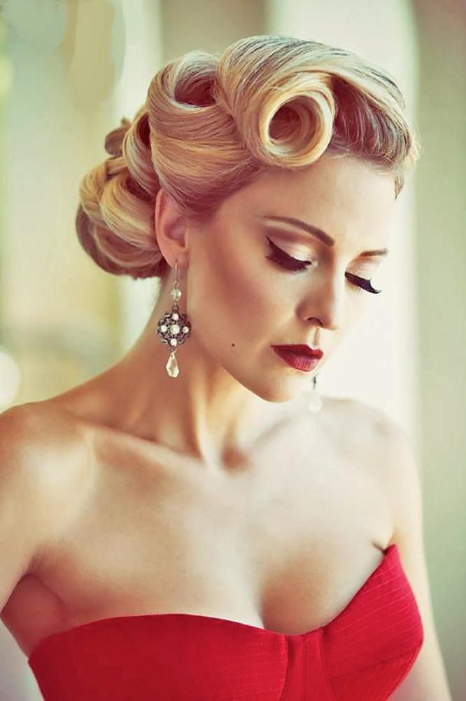 36 vintage wedding hairstyles for gorgeous brides - hair