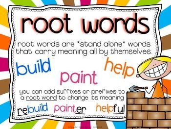 25+ best ideas about Root words on Pinterest | Root meaning, Study ...