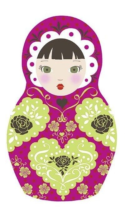 Printable Matryoshka Russian Doll