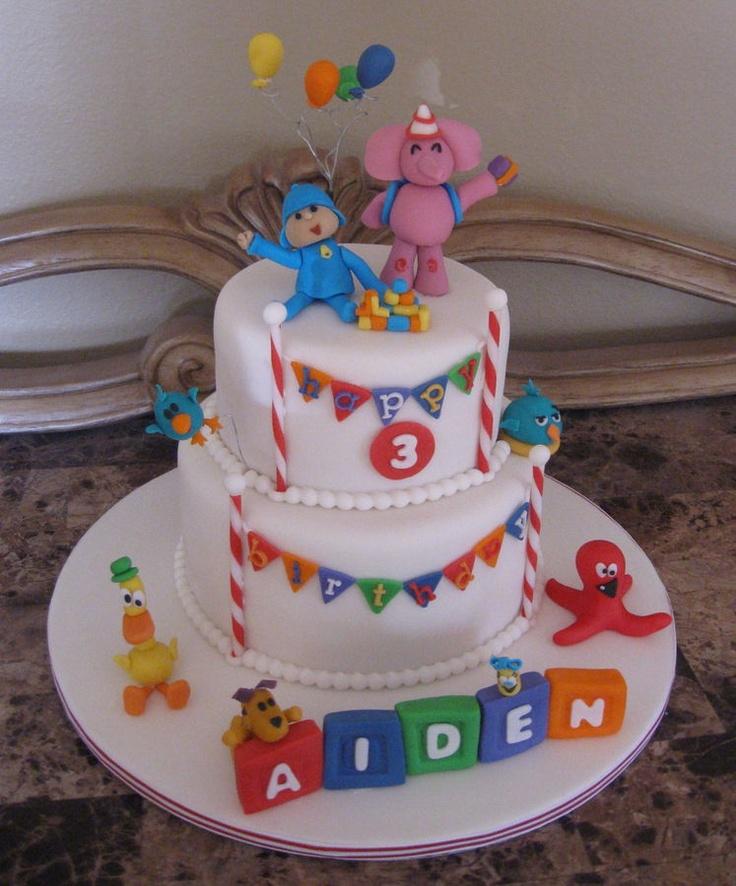 Best Kids Birthday Cakes: 25 Best Ideas About Pocoyo Cakes On Pinterest
